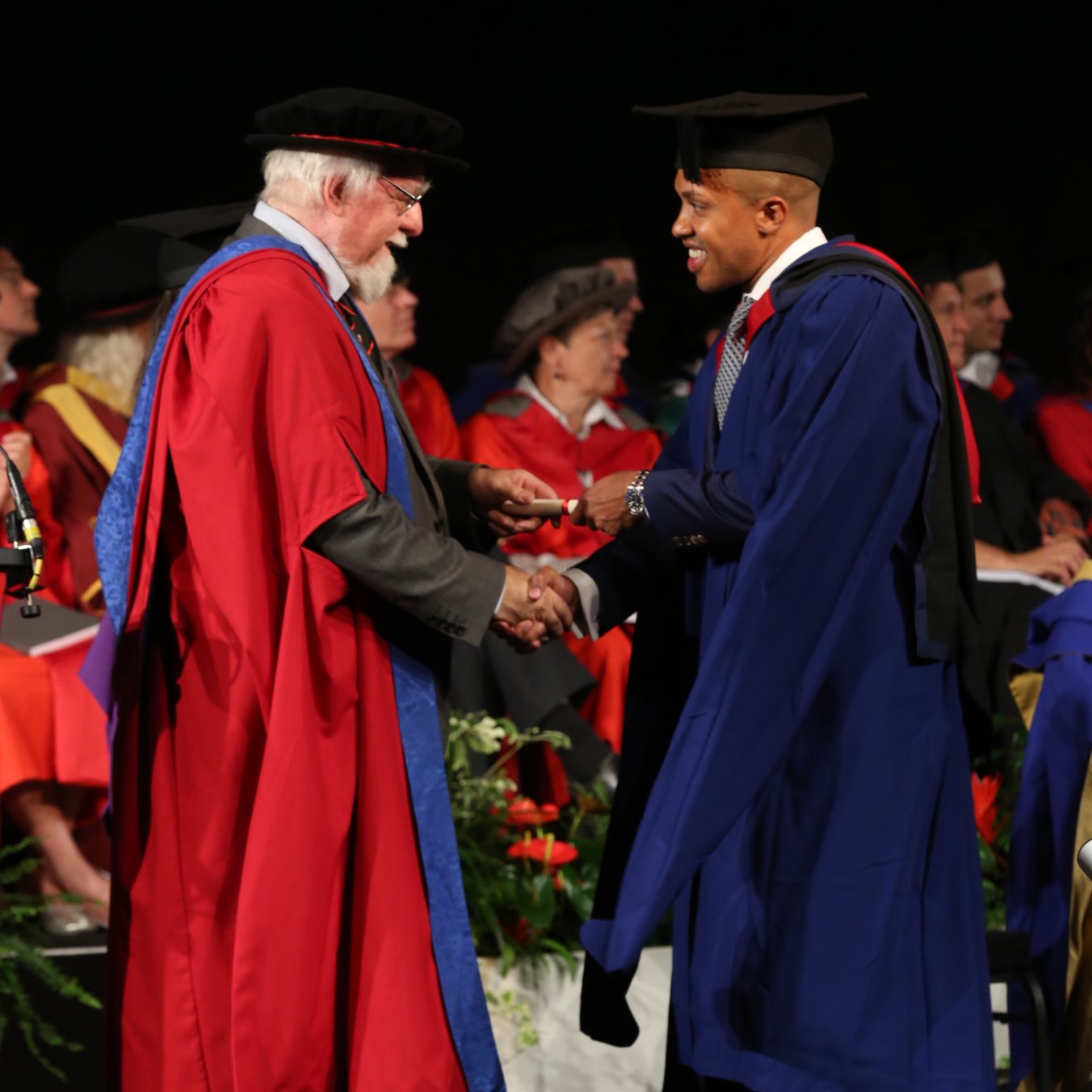 Image of Liverpool Street based personal trainer Jason Jackson awarded Master of Science