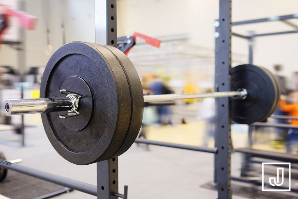 Image of barbell in Liverpool Street personal training studio